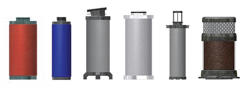 Wkłady zamienne wg producentów filtrów